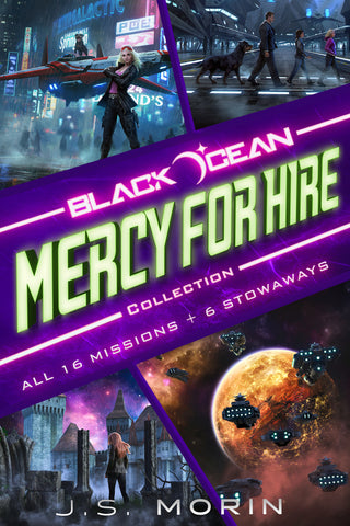 Black Ocean: Mercy for Hire Complete Collection Missions 1-16
