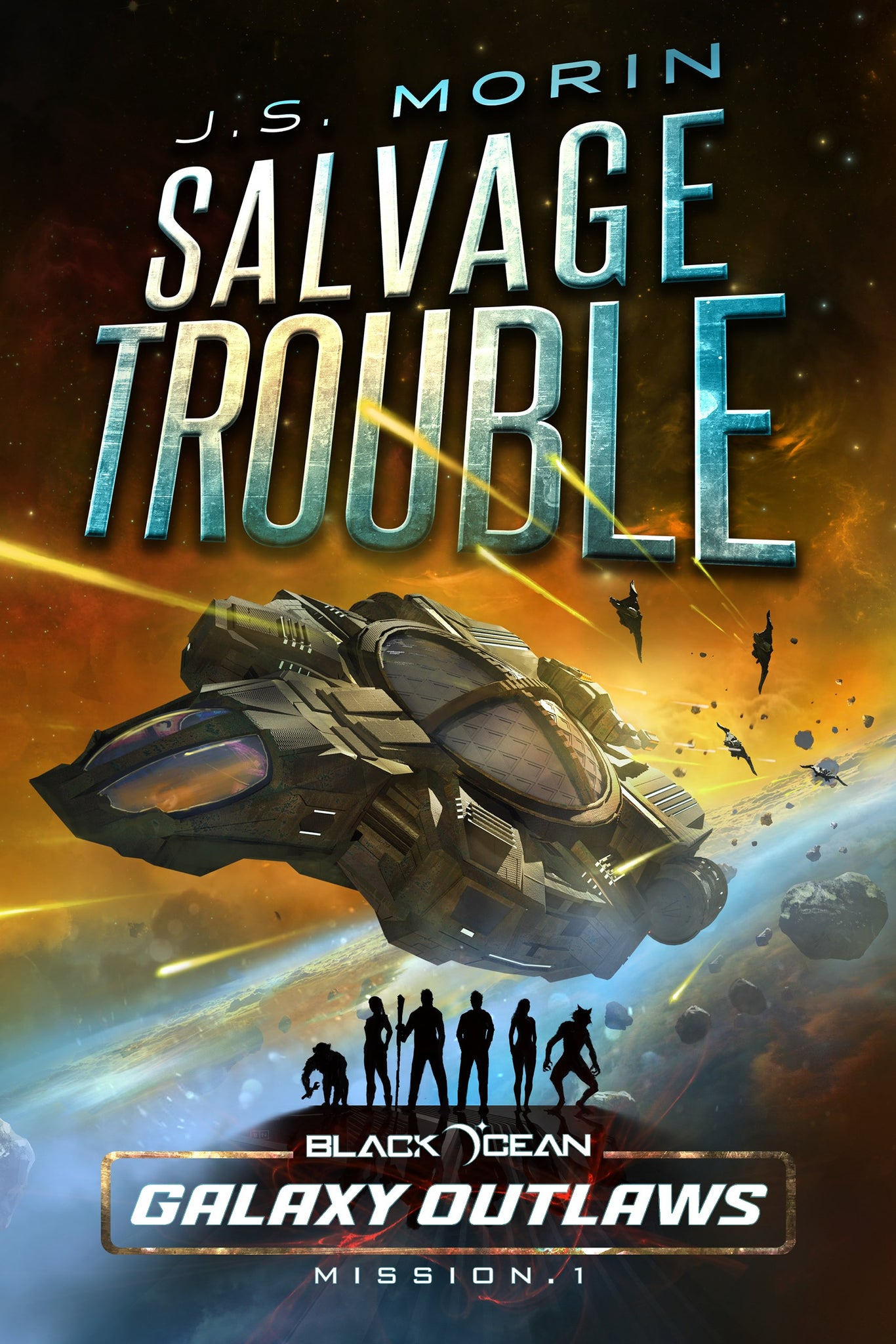 Salvage Trouble, Black Ocean Mission 1