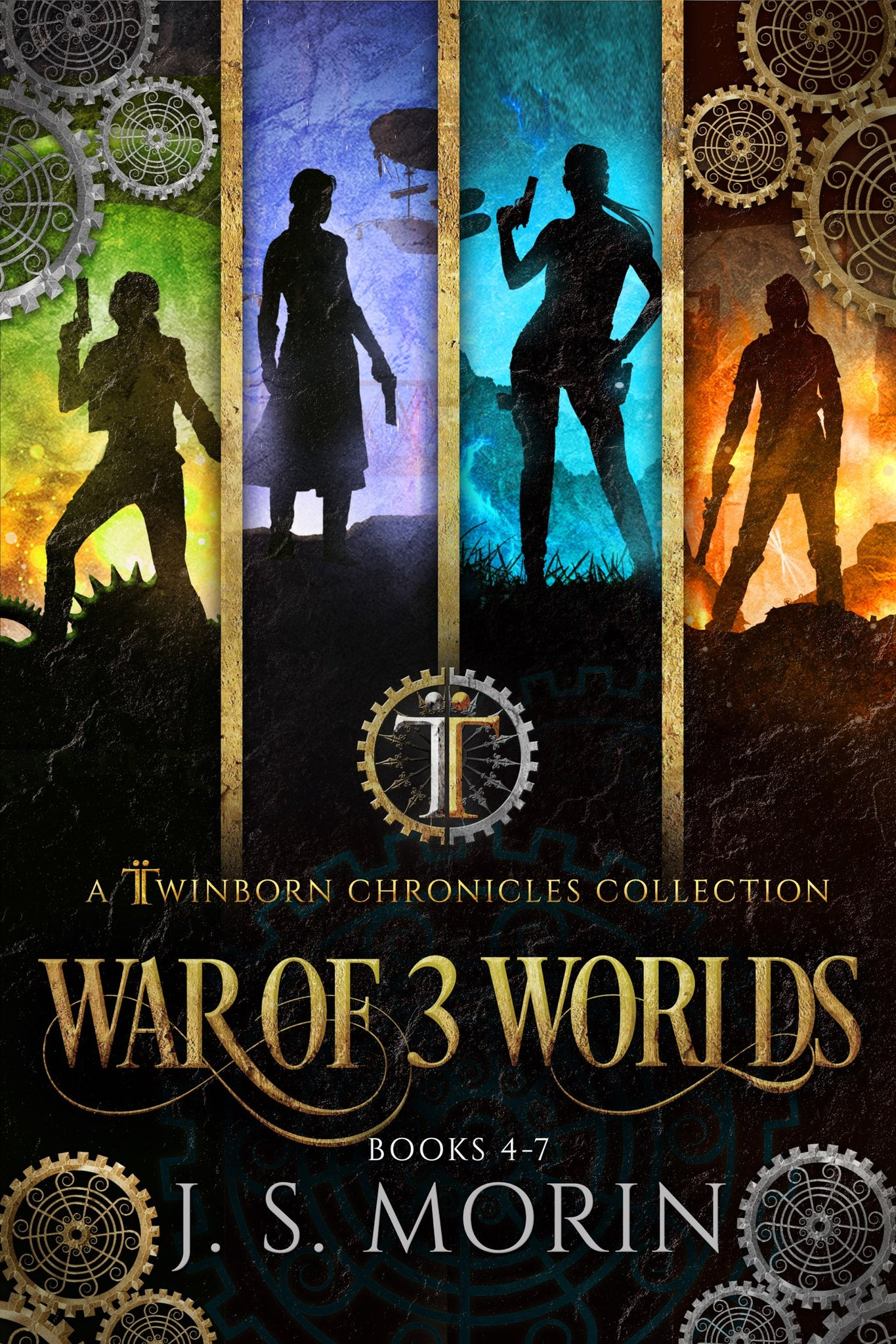 War of 3 Worlds, Twinborn Chronicles Books 4-7