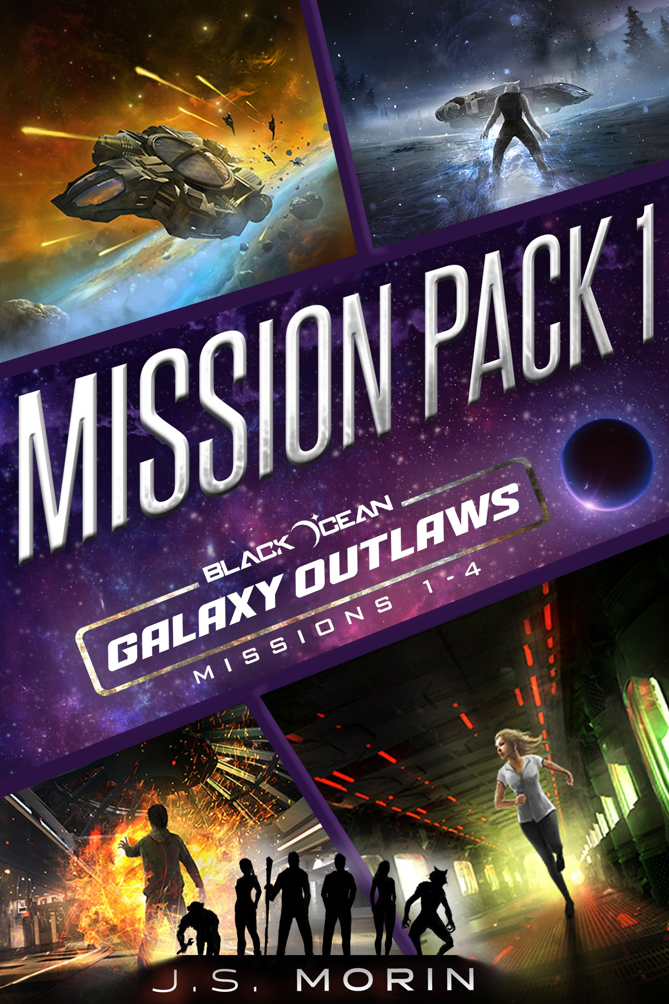 Mission Pack 1, Black Ocean: Galaxy Outlaws Missions 1-4