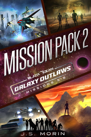 Mission Pack 2, Black Ocean: Galaxy Outlaws Missions 5-8