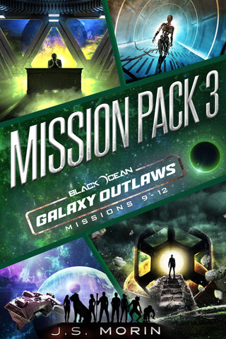 Mission Pack 3, Black Ocean: Galaxy Outlaws Missions 9-12