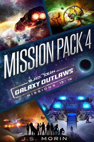 Mission Pack 4, Black Ocean: Galaxy Outlaws Missions 13-16