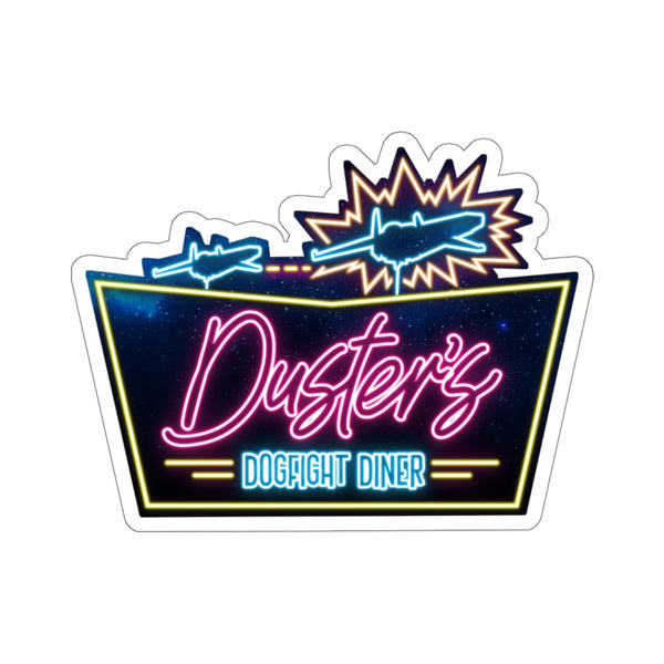 Black Ocean: Duster's Dogfight Diner stickers