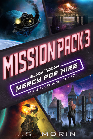 Mission Pack 3, Black Ocean: Mercy for Hire Missions 9-12