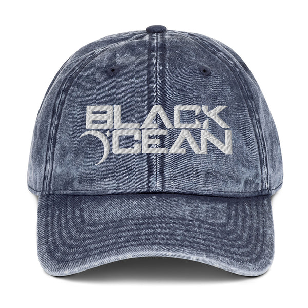 Black Ocean Trucker Hat