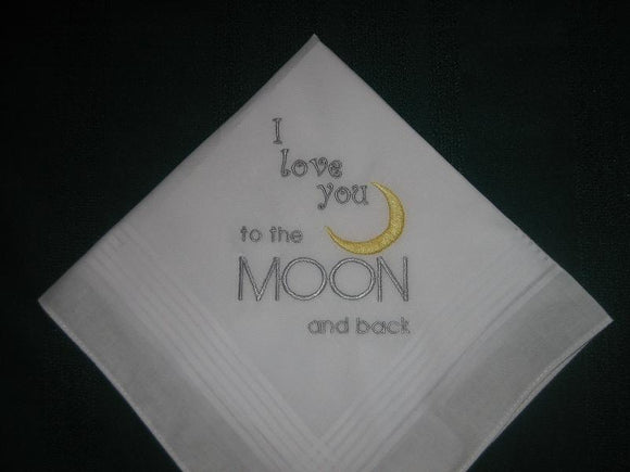 Mens MOON handkerchief hankie hanky 192 FREE gift box and Free shipping in the US