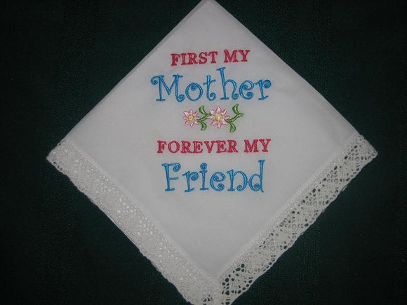 Mother Handkerchief, Mother of the Bride Handkerchief, 193