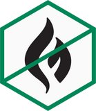 Flammable caution icon