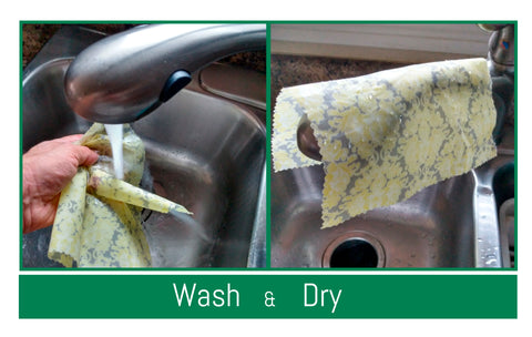 wash dry, how to use