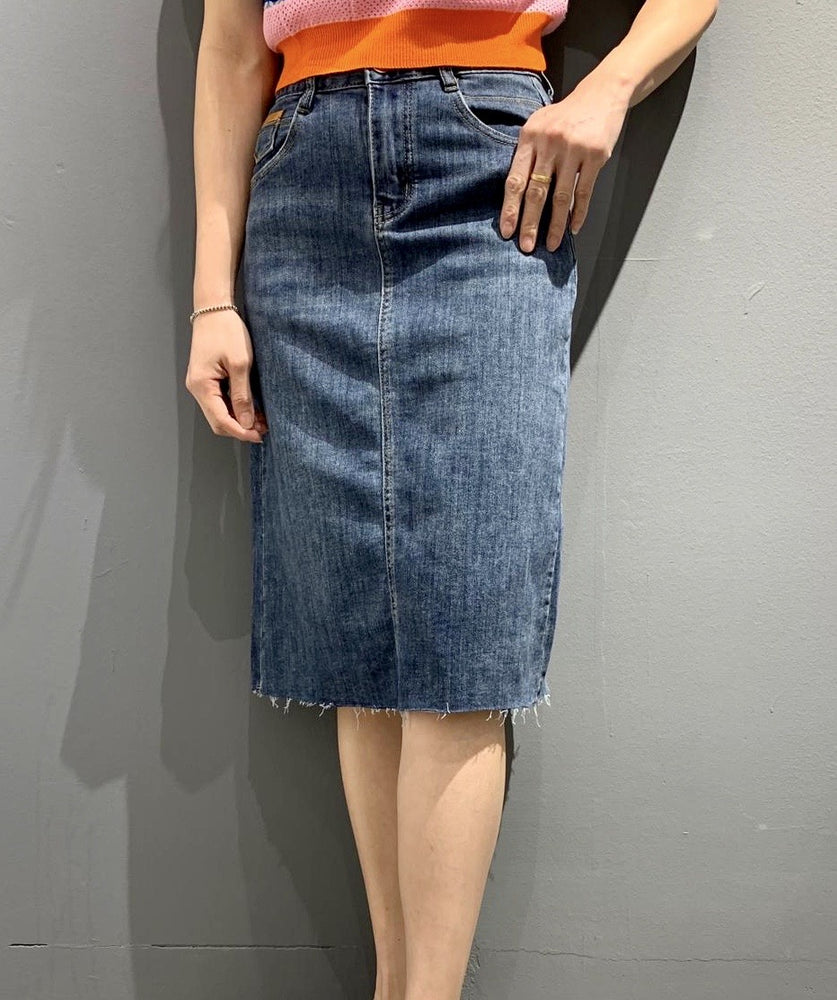 GB6770 - Billy Jean Denim Skirt