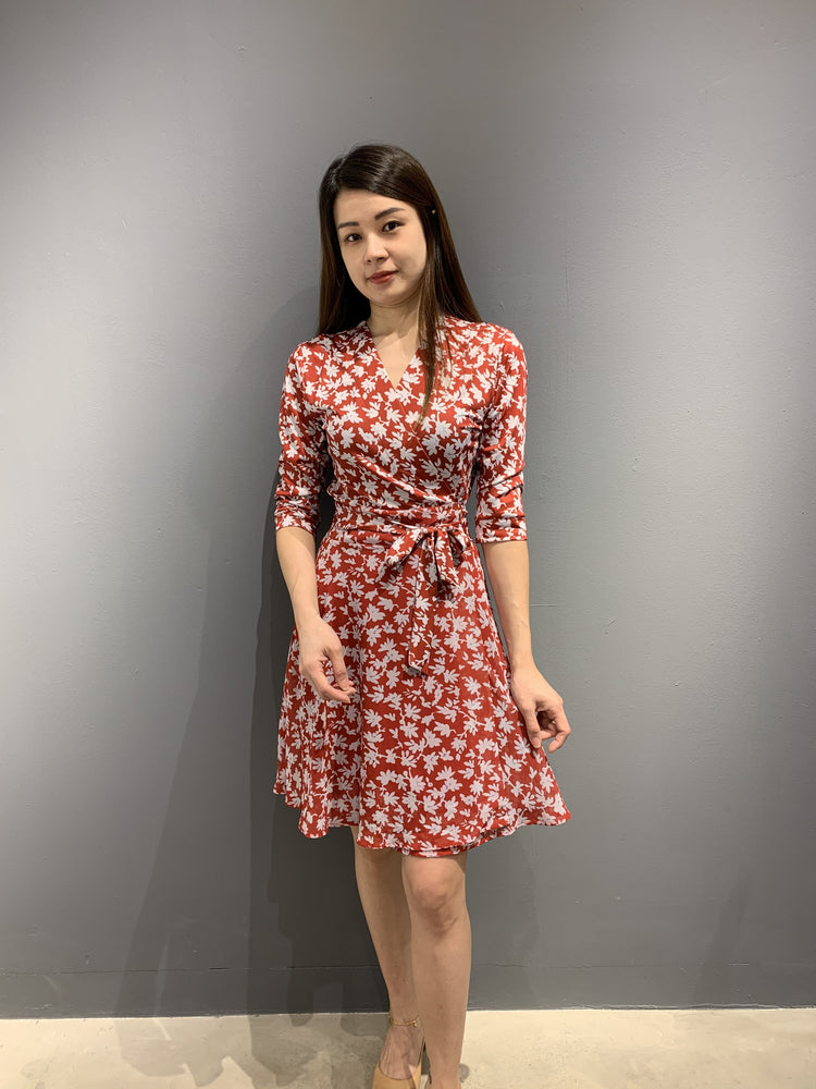 Load image into Gallery viewer, WP4816 - Wrap Dress