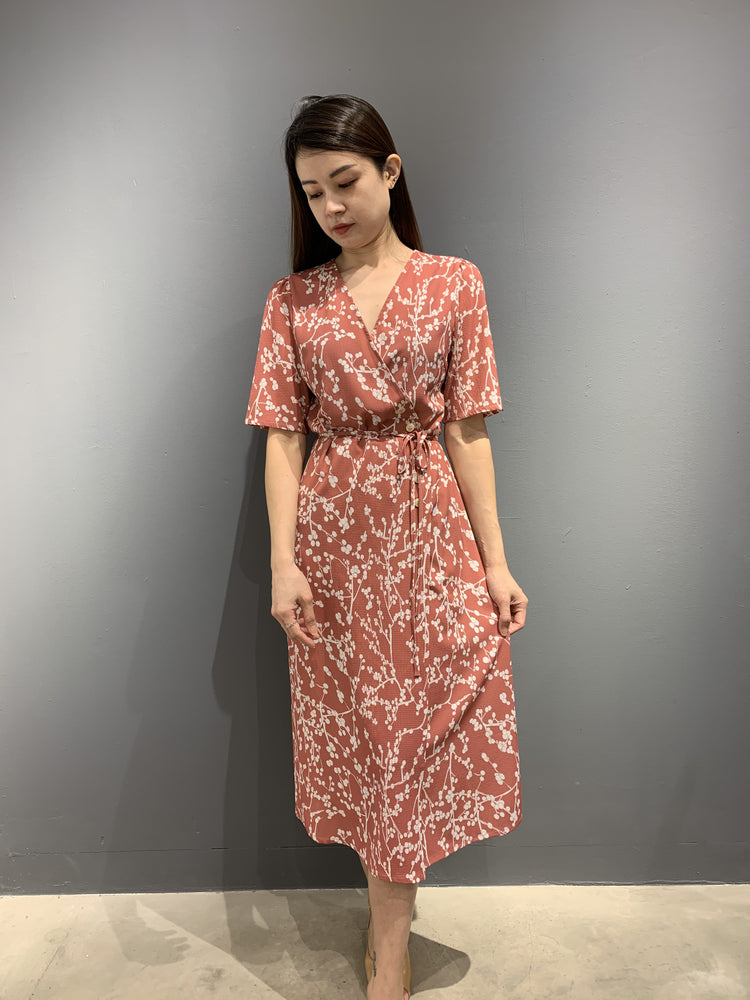 Load image into Gallery viewer, WP4815 - Wrap Dress