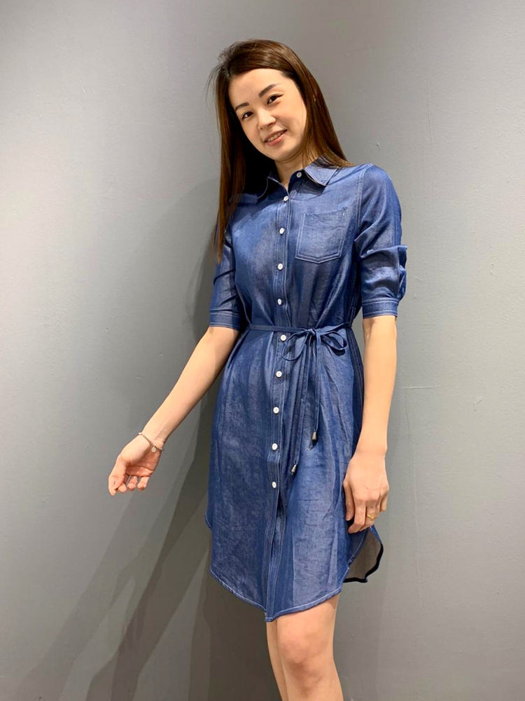 Load image into Gallery viewer, UH0517 - Dress Denim Queen