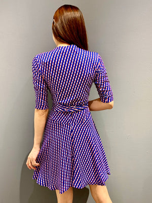 WP4828 - Dress Candy Stripe Wrap