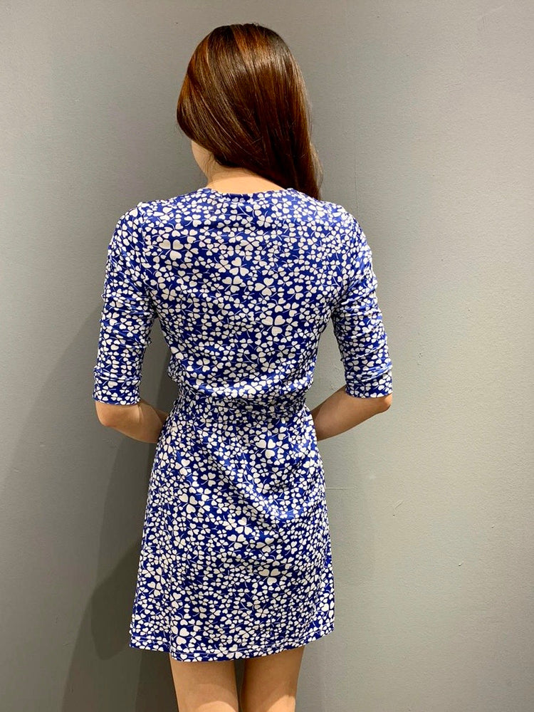 Load image into Gallery viewer, WP4840 - Lace Print Wrap Dress