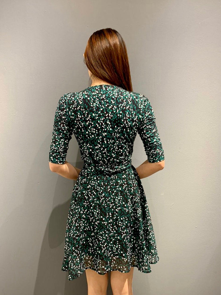 WP4842 - Emerald Forest Wrap Dress