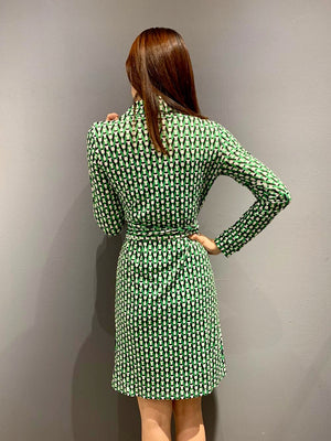 WP4833 - Dress Green Chain Wrap