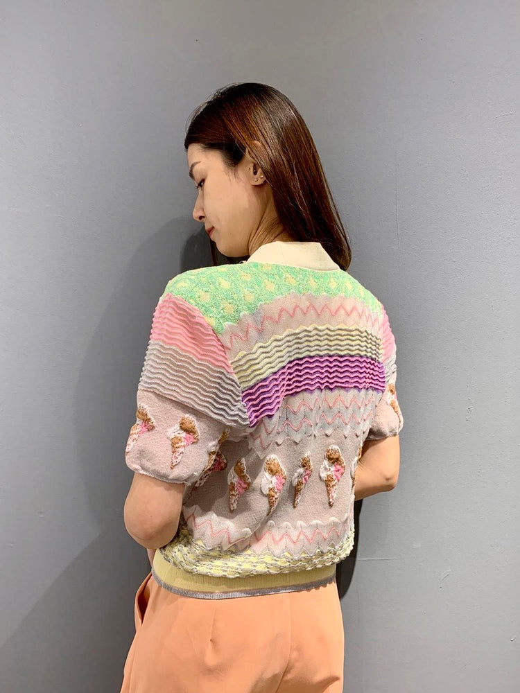 UH0537 - Ice Cream Cardigan