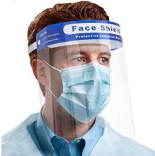 "Load image into Gallery viewer, 1 Reusable Safety Face Shield (13""x 8.75"") $2.00 each"