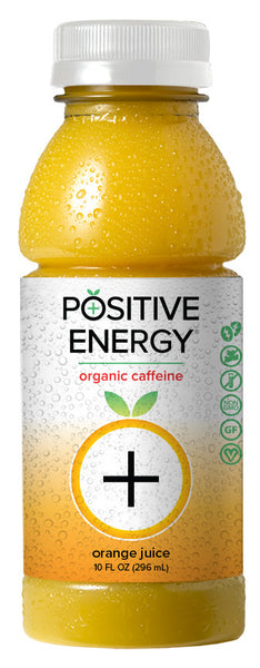 Positive Energy Orange Juice 12 Pack