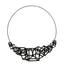 Load image into Gallery viewer, Z Cube Necklace