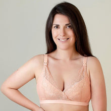 Load image into Gallery viewer, Pink Lace Maternity Bra - Bra & Bebe
