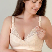 Load image into Gallery viewer, Nude Lace Maternity Bra - Bra & Bebe