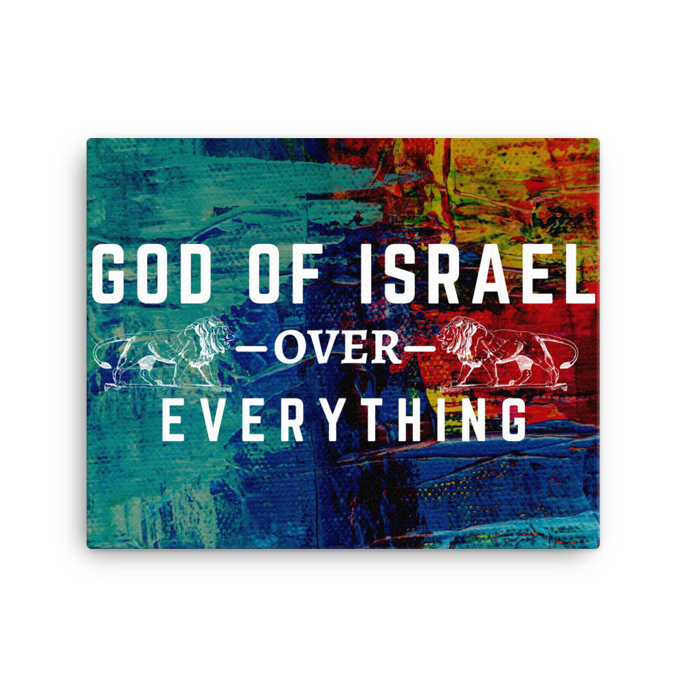 Canvas - God of Israel - Over- Everything