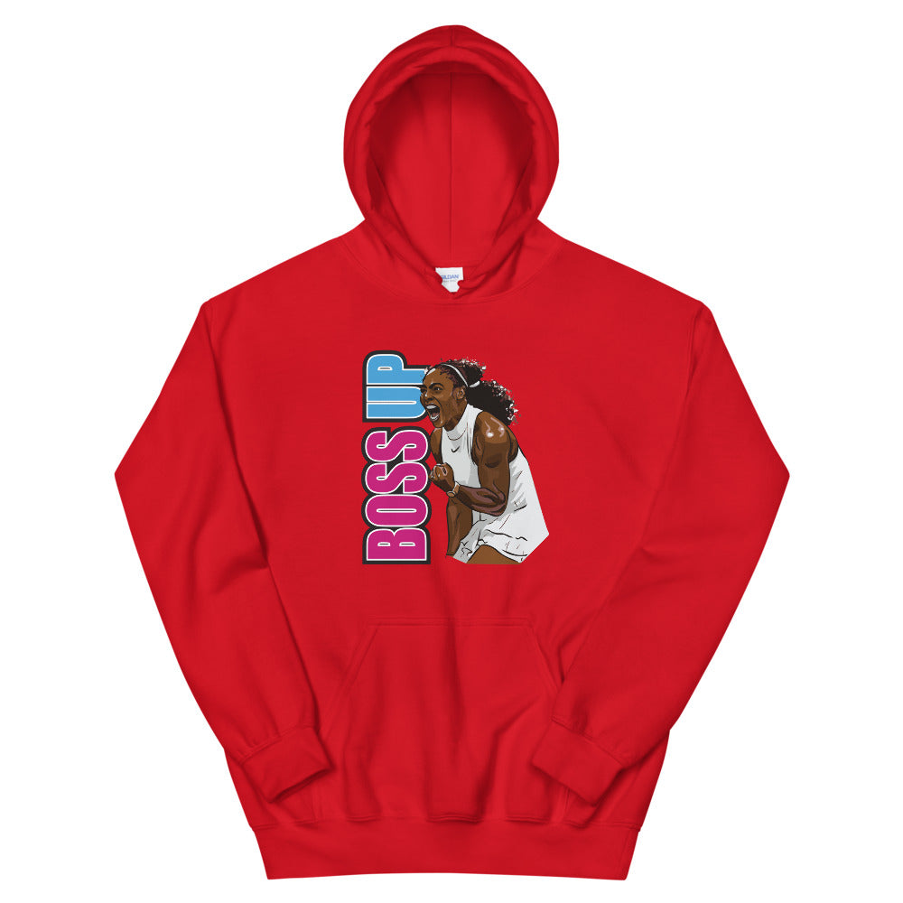 BOSS UP Serena Williams Hoodie (Unisex)