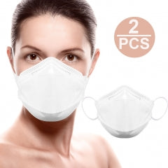 CE FDA Mouth Face Mask KN 95 Disposable Surgical Mask Dust Breathable Earloop