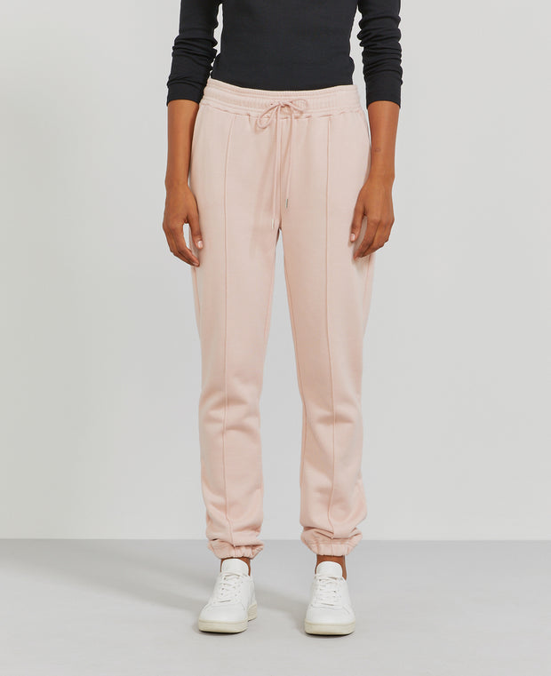 Women's Organic cotton boy-fit blush sweatpants