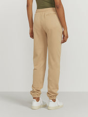 Women's Organic cotton boy fit camel sweatpants