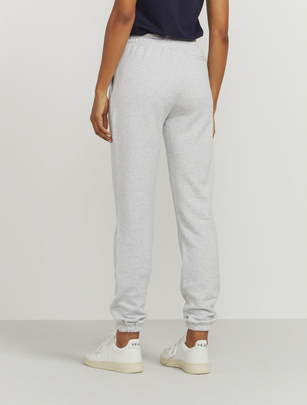 Women's Organic cotton boy-fit grey sweatpants