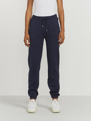 Women's Organic cotton boy fit navy sweatpants