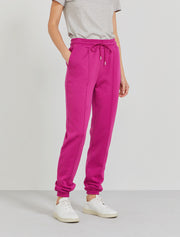 Women's Organic cotton boy fit magenta sweatpants