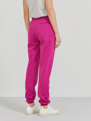 Women's Organic cotton boy-fit magenta sweatpants