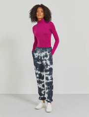 Organic cotton tie-dye women's sweatpants