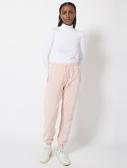 Garment Dyed Panelled Jogger