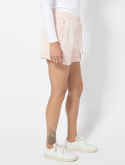 Garment Dyed Panelled Short