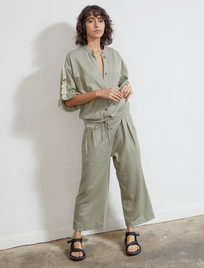Women's Sustainable knitted jacquard jumpsuit