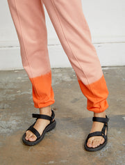 women's Organic cotton dip-dye sweatpants