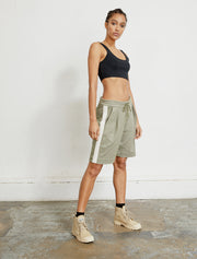 Women's Sustainable knitted jacquard shorts