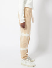 Striped Tie Dye Boy Fit Sweatpants
