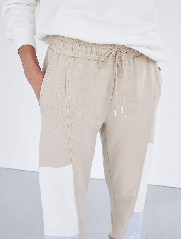 Organic Cotton Multi-Panel Sweatpants