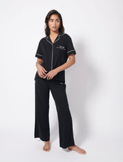 Brushed Organic Cotton Pyjama Shirt and Pants