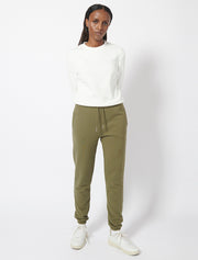 Organic Cotton Loopback Slim Leg Trackpant