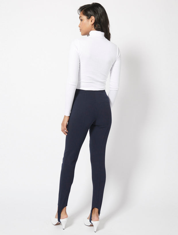 Compact Organic Cotton Panelled Ski Pants