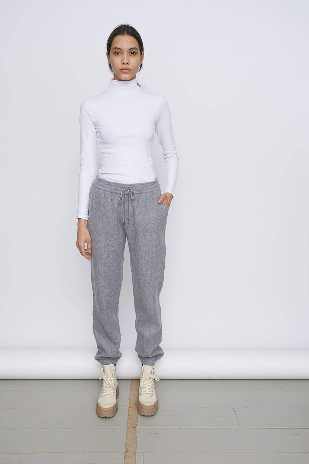 Recycled Wool And Ctn Boyfit Sweatpants