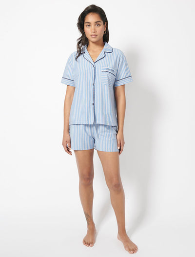 Organic Cotton Pyjama Shirt and Shorts